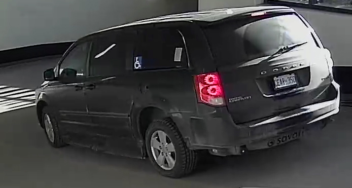 Suspect Vehicle - Drivers Side
