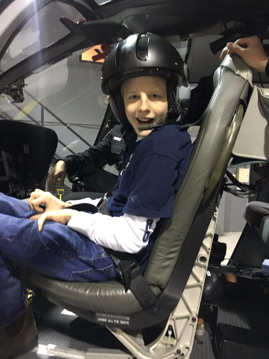 Robbie assumes his position as Tactical Flight Officer on Air2.