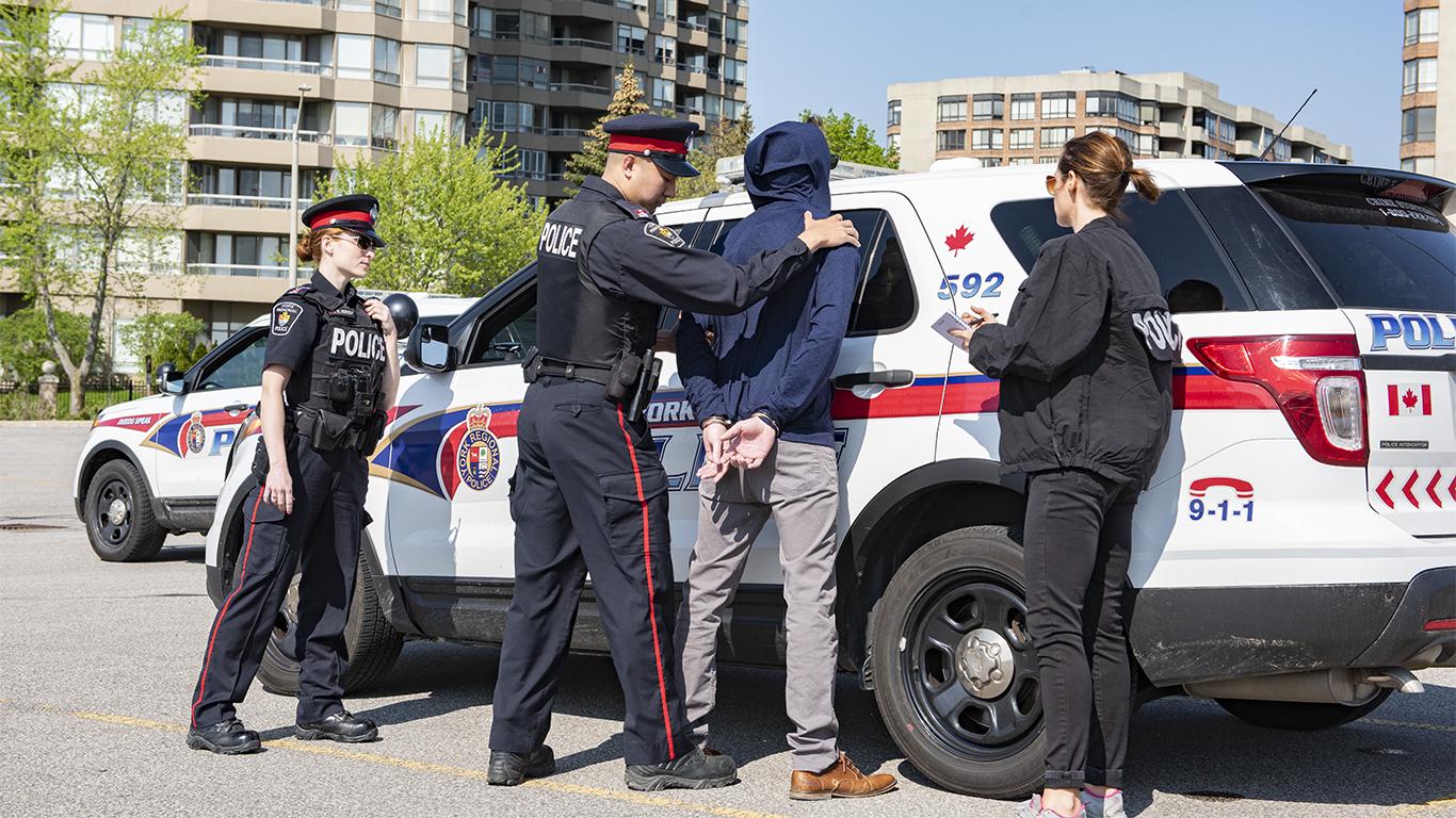Police crack down on south-end criminals