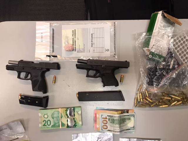 J:\MEDIA\INTERNET PRESS RELEASES\2019\PHOTOS\handguns seized